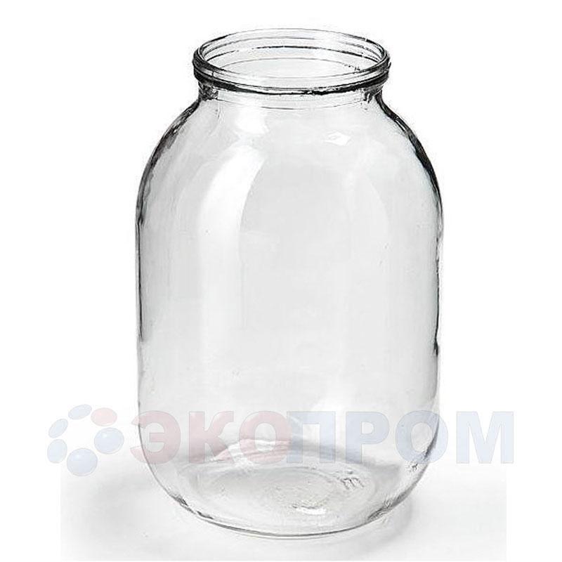 Банка стеклянная 3 литра