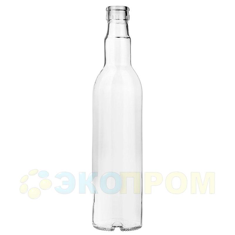 Бутылка стеклянная Водочная 500 мл