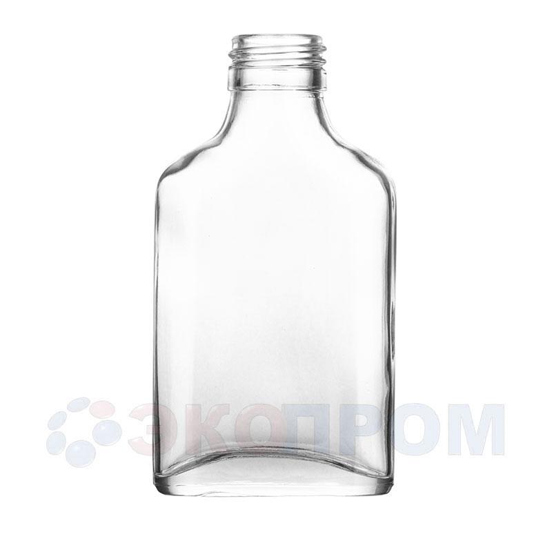 """Бутылка стеклянная """"Коньячная"""" 100мл"""