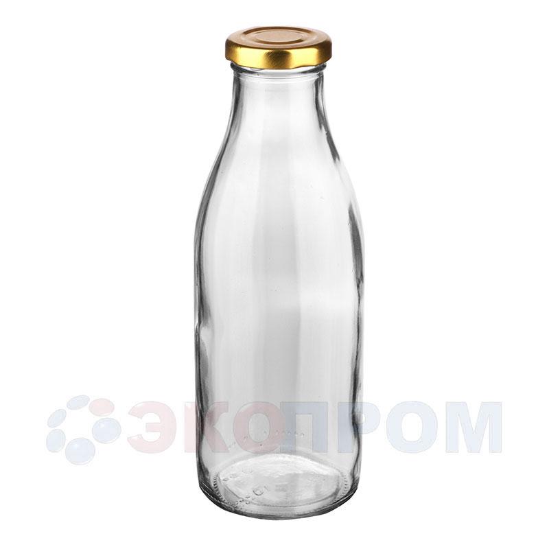 """Бутылка стеклянная """"Молочная"""""""