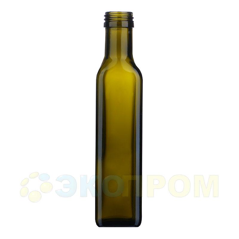 Бутылка для масел 250 мл (зелёная)